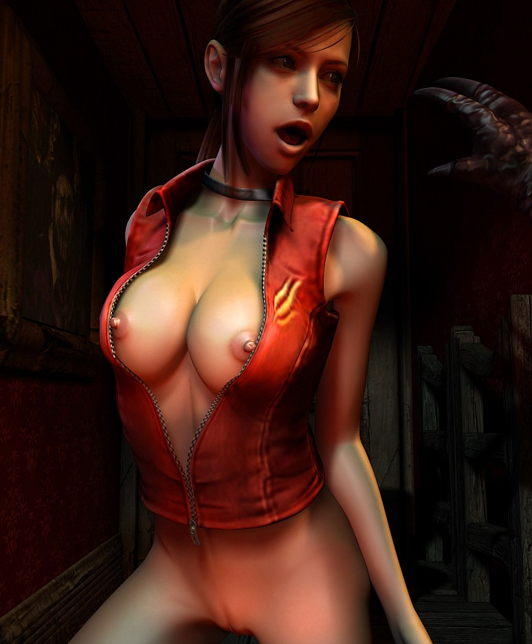Claire Redfield | Resident Evil Hentai CGI