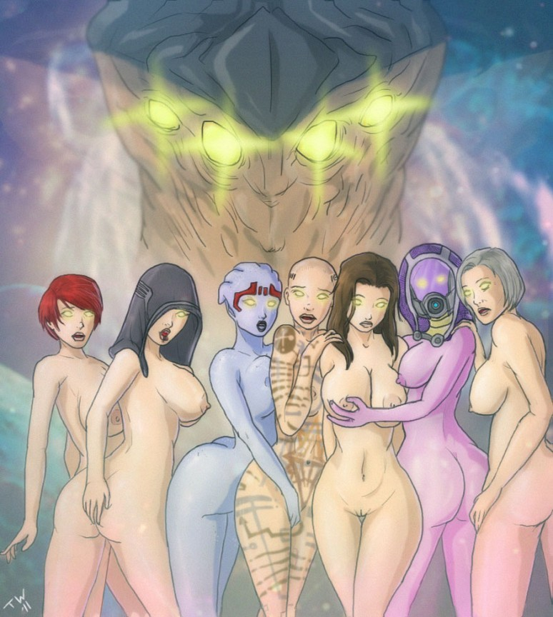Fear Of The Collectors | Mass Effect Hentai Image