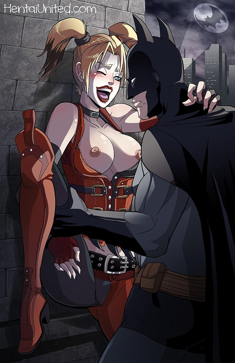Harley Quinn and Batman - DC Comics