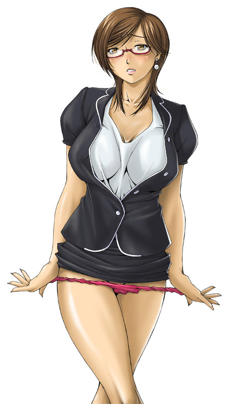 3d hentai teacher with big milk tits 9