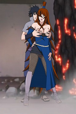 Sasuke and Mei - DarkAlx - Naruto